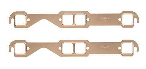 Mr. Gasket 7151MRG Copper Seal Medium Race Square Port Exhaust Gasket