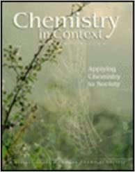 Chemistry in Context: Applying Chemistry to Society by American Chemical Society (1996-10-23)