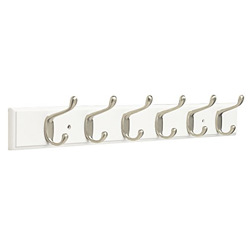 Five Hook Coat Rack - Franklin Brass FBHDCH6-WSE-R, 27