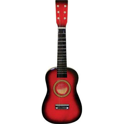 Red Acoustic Guitar Set - 4