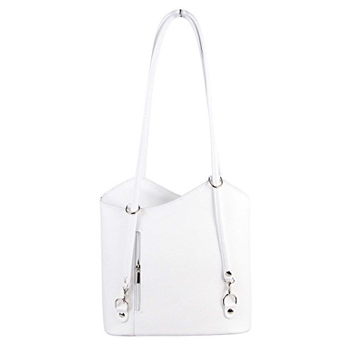 Sac à Kroko femme au dos cm BxHxT Couture Only 27x29x8 Blanc pour porté OBC main Türkis Turquoise Beautiful OwIxtqSF1