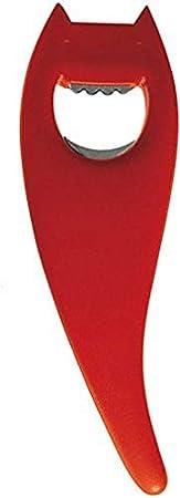 Alessi ABC01 R - Abrebotellas, Color Rojo