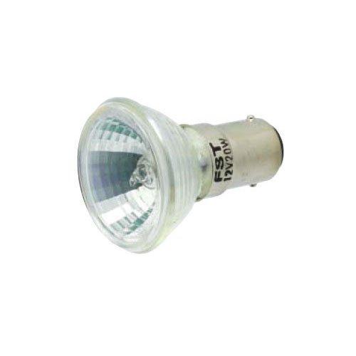 Mr11 Narrow Spot - Ushio BC1692 1000607-20W Halogen Light Bulb - MR11 - FSS Narrow Spot - DC Bayonet Base - Open Face - 2,000 Life Hours - 4,000 Candlepower - 12V