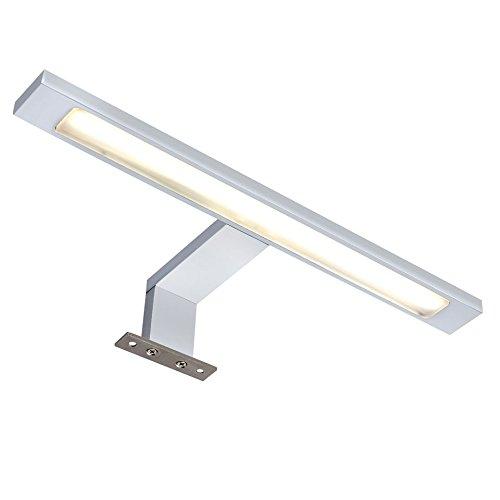 over mirror lighting. Over Mirror Bathroom Light - Sensio Neptune LED Lighting (Warm White 3000k) Chrome D