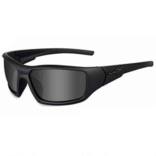 Wiley X Censor Ops Sunglasses, Grey/Black, Polarized Smoke - Eyewear Wiley