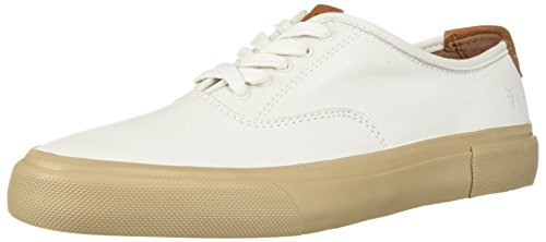 FRYE Men's Ludlow Bal Oxford Sneaker, White, 12 Medium US by FRYE