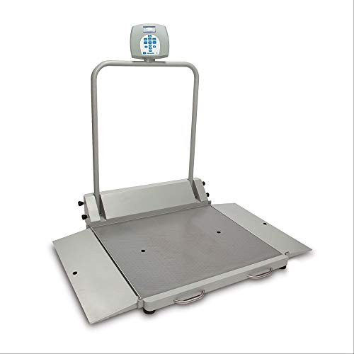 - Health o Meter Digital Wheelchair Scale - Portable/Folding with 2 Ramps - 2610KL - 56.75