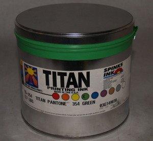 Titan 354 PMS Green 5.7 Lb.