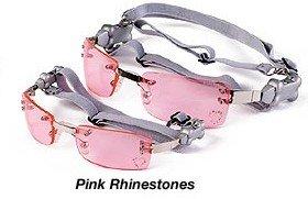 Doggles K9 Optix Sunglasses – SIZE SMALL – PINK RHINESTONES, My Pet Supplies