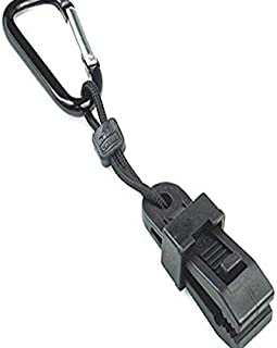 """product image for CHUMS Safety 30044 Glove Clip Carabiner, Black, 7"""" x 2"""" x 1"""", Black, 7"""" x 2"""" x 1"""""""