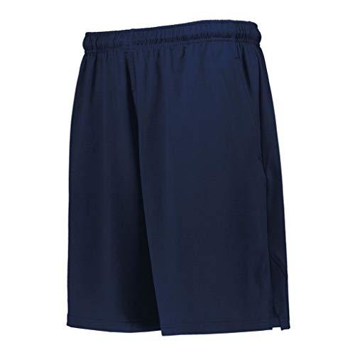 (Russell Athletic Men's Dri-Power Coaches Short, Navy, L)