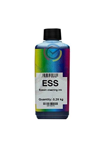 Liquido pulizia testine e ugelli per stampanti Epson 250ml ESS Stampa Continua ESS/250ml