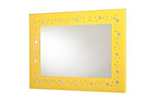Mariano Metal Decor WA-6003-M-YEL Circles Bright Yellow Metal Mirror/Wall Decor Art by Mariano Metal Dcor