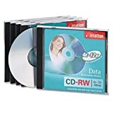 CD-RW Disc, 700 MB, 80 min, 12x, PK 5