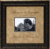 Always Kiss Me Goodnight Photo Mat