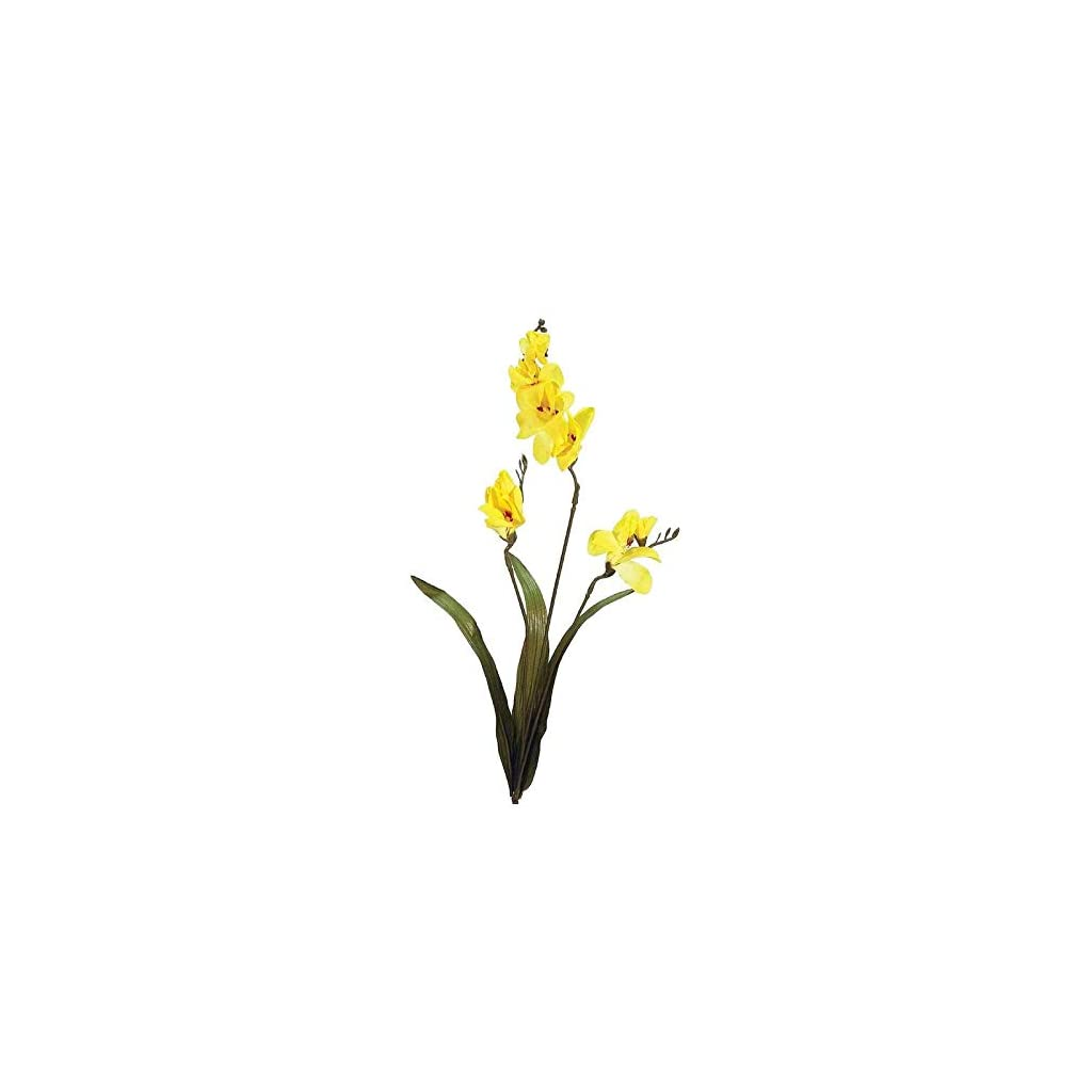 Factory Direct Craft Yellow Artificial Freesia Sprays | Package of 12 Pieces