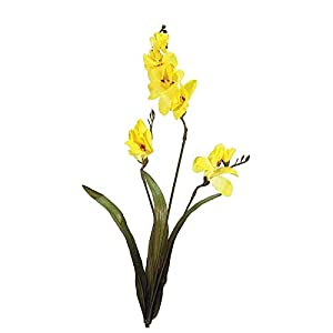 Silk Flower Arrangements Factory Direct Craft Yellow Artificial Freesia Sprays | Package of 12 Pieces