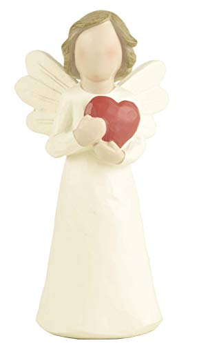 ENNAS Angel with Love Heart Sculpture Figure for Gifts Home Decoration ()
