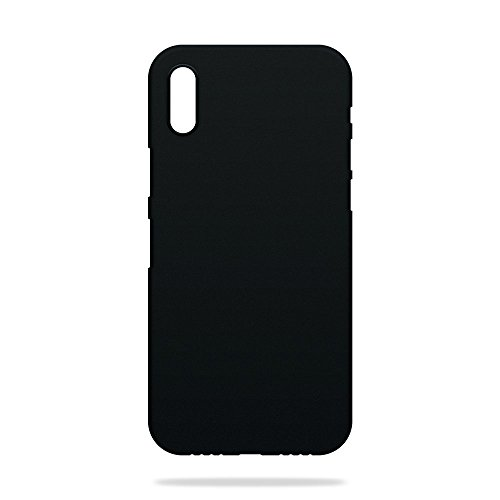 Thinnest Iphone X Case  The Slight X By Desmay  Only 0 014In 0 35Mm In Thickness  Anti Scratch And Anti Fingerprints   Solid Black