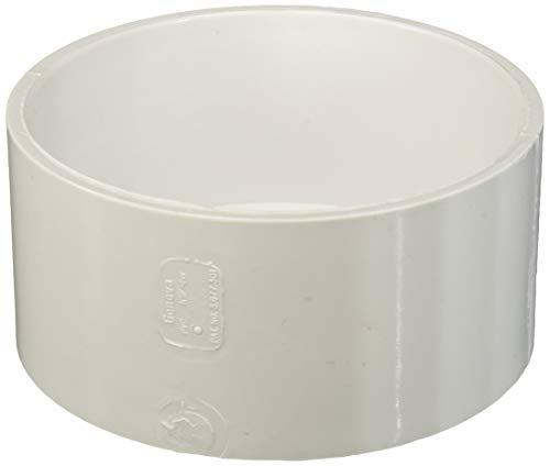 Sch 40 Pvc Cap - Genova 70156 700 Dwv Pipe Cap, 6 in, Hub, SCH 40, PVC, 6