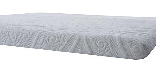 Ommage Sleep Organic Natural Latex Mattress Topper, Medium Firmness, 3 Inches Queen