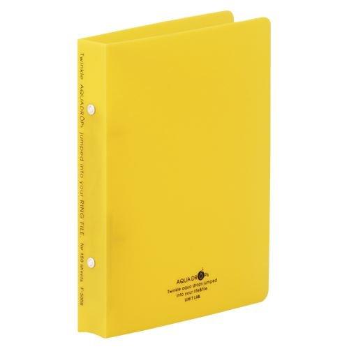 [해외]リヒトラブ 링 파일 A5S 노랑 F-5006-5 00010107 【 정리 구매 10 권 세트 】 / Richtrab ring File A5S Yellow F-5006-5 00010107 [10 books set]