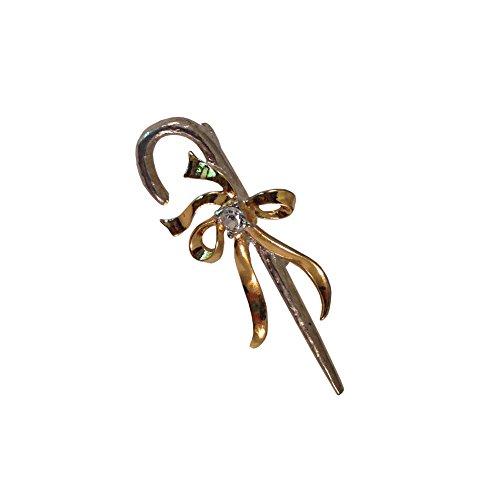 Golden Bow Brooch - 5