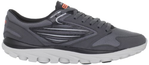 Skechers GO Run All Season 53508 Herren Sportschuhe - Fitness Grau (CCOR)