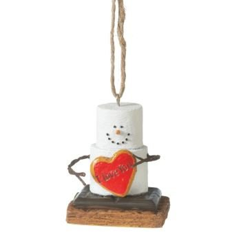 S'Mores I Love You Christmas/ Valentine's Day/ Everyday (Smore Ornament)