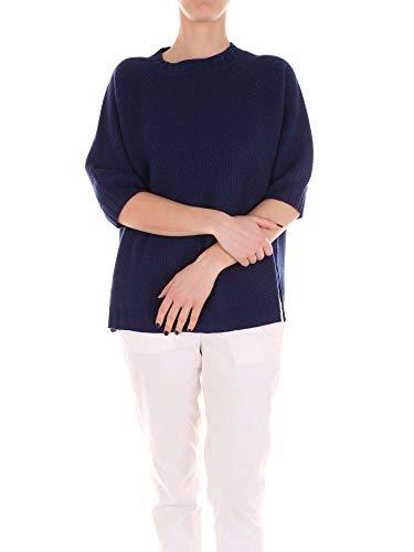 Perugia Maglia Lana Le 46757133blue Tricot Donna Blu 5nqw8EHzgx