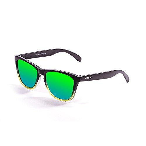 Ocean Sunglasses 40002.116 Lunette de Soleil Mixte Adulte, Vert, Taille Unique