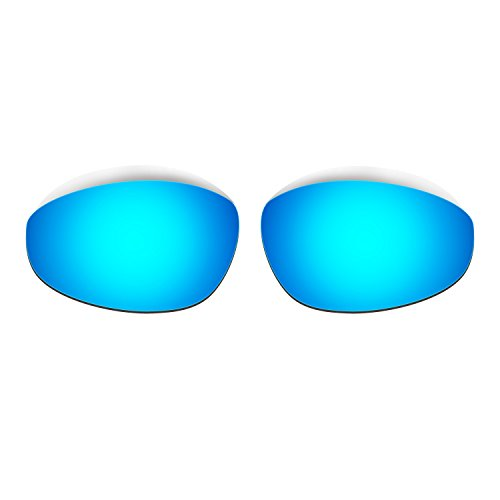 HKUCO Mens Replacement Lenses for Oakley Straight Jacket 1999 Blue/Black/24K Gold Sunglasses 4KIENDzDuL