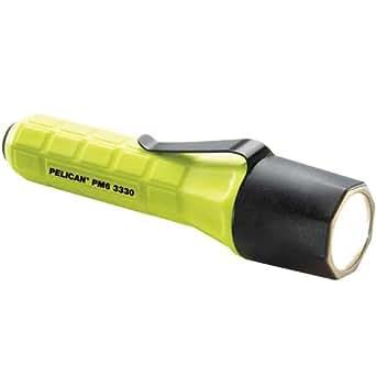 Pelican 3330C, PM6 - Linterna (PM6, Linterna de mano, Negro, Amarillo, LED, CR123)