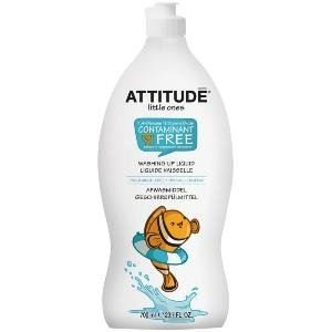 Attitude - Little Ones Washing Up Liquid - Fragrance Free - 700ml