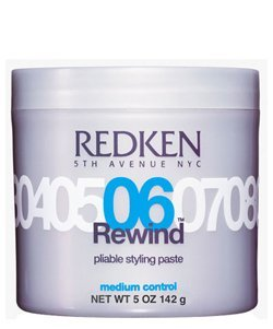 Redken 06 Rewind Pliable Styling Paste - Medium Control 5oz Tub (1/pk) (06 Tub)