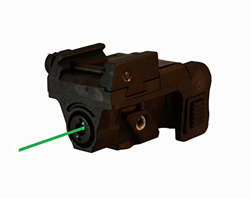 Green Laser Sight | Rifle Handgun | Weaver or Picatinny Rail | Green Dot Lazer Sight Pistol | Tactical Sights Airsoft | Laser Sight | Scope Hand Gun Rifles | Laser Pointer Pistol | Pistol Light ()