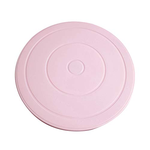 Softmusic Baking Accessories and Cake Decorating DIY Cake Plate Turnable Rotating Anti-Skid Cake Tool Decorating Stand Platform - Pink by Softmusic (Image #5)