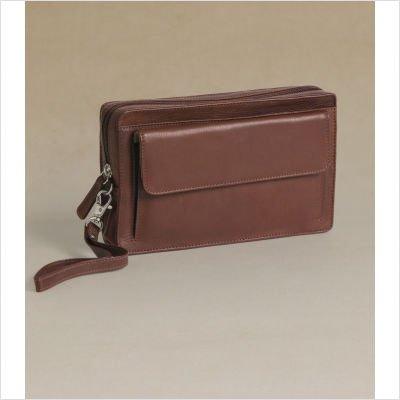 ere Large Wrist Bag with Removable Wrist Strap - Brandy (Osgoode Marley Cashmere Wallet Bag)