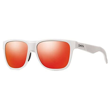 SMITH Lowdown - Gafas de sol Rectangulares para hombre, color blanco, talla: Amazon.es: Deportes y aire libre