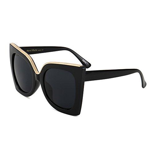Frauen Sonnenbrille Diseño C4 Acetat Sonnenbrille Neueste Degradado Uv400 C4 Marke Rahmen KLXEB Lente Vintage qHZHwR