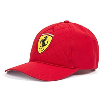 Scuderia Ferrari Formula 1 2018 Red Quilt Stitch Hat Cap