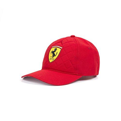 Scuderia Ferrari Formula 1 2018 Red Quilt Stitch Hat (Scuderia Ferrari Cap)