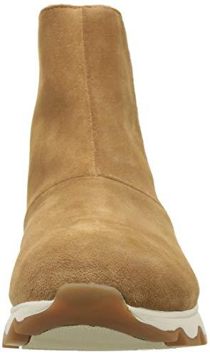 naturale marrone marrone cinturino Stivaletti donna bianco corto Sorel cammello wxaqF
