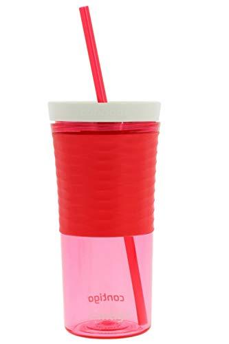 Contigo AUTOCLOSE Shake & Go Single-Wall Tumbler, 18oz, Watermelon