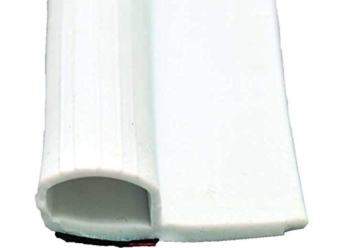 (AP Products 0121.2100 018-314 Economy Rubber Slide-Out Seal with Wiper and Tape-5/8 x 1-15/16