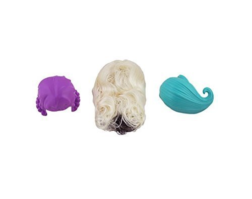 MONSTER HIGH MONSTER MAKER Replacement DOLL WIGS- Set of 3]()