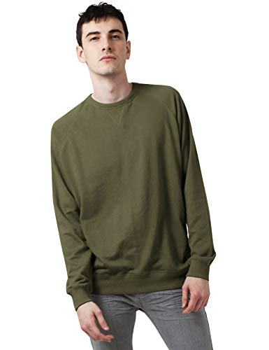 (Ma Croix Mens French Terry Crewneck Sweatshirt (XX-Large, 1hc18_Military Green))