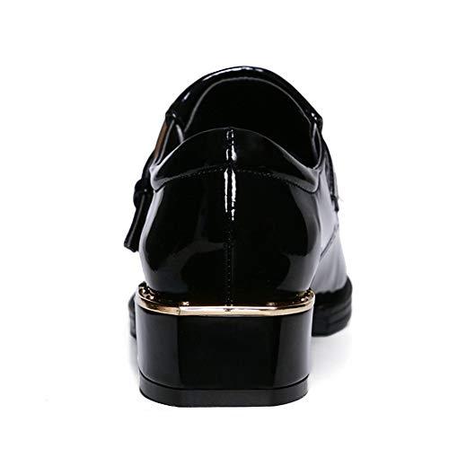 Noir Noir 5 Sandales 36 EU Femme Compensées APL11215 BalaMasa IxH6OCq