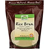 Rice Bran, 20 oz by Now Foods (Pack of 6)