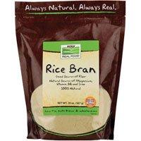 Now Foods Rice Bran 20 oz ( Multi-Pack)